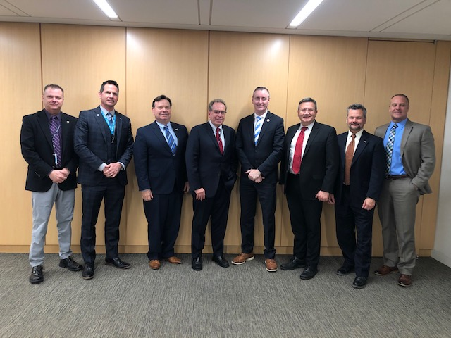 CAPA meets with Rep. Rick Larsen, Rep. Brian Fitzpatrick, Sen. Ted Cruz and FAA's Rick Domingo to discuss 2020 aviation issues for 116th Congress